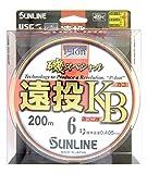 サンライン(SUNLINE) ライン 磯スペシャル 遠投 K.B. 200m 6号
