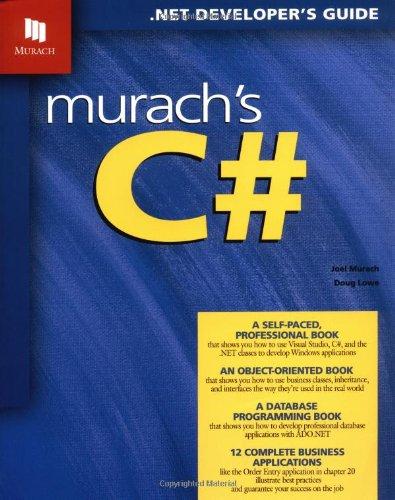 Murach'S C#