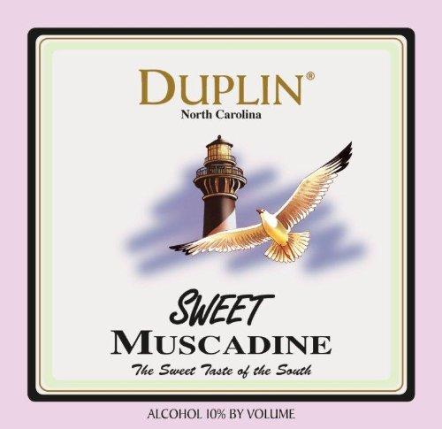 NV Duplin Wine Cellars Sweet North Carolina Muscadine 750 mL White Wine