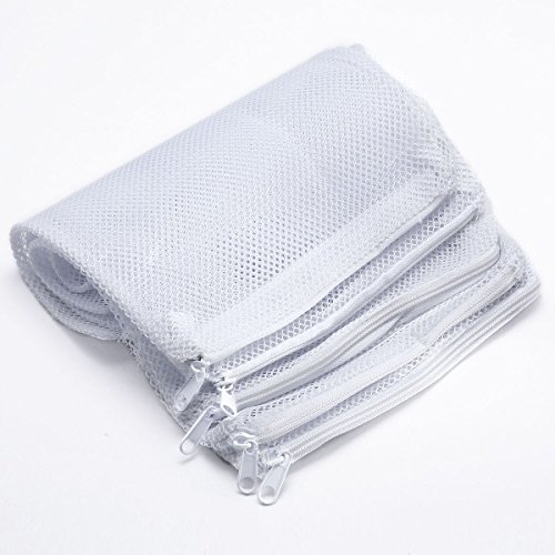 Viki lynn 5pcs nylon mesh aquarium pond filter small size for Fish pond filter mesh
