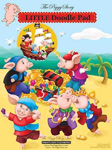 Piggy Story Little Doodle Pad, Piggy Pirates - 1