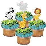 Zoo Animal Cupcake Picks - 24 ct