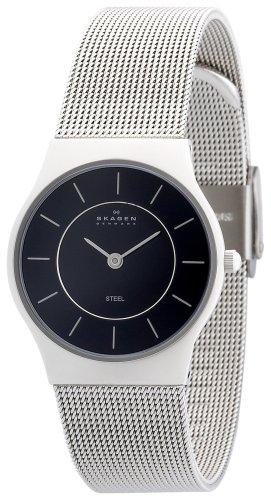 SKAGEN (スカーゲン) 腕時計 basic steel ladys 233SSSB ケース幅: 28mm Ultra Slim レディース [正規輸入品]