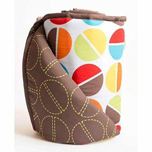 Bananafish Studio Geo Circle Mix & Match Reversible Crib Bumper - 1