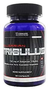 Ultimate Nutrition Bulgarian Tribulus Capsules, 750 mg, 90-Count Bottles