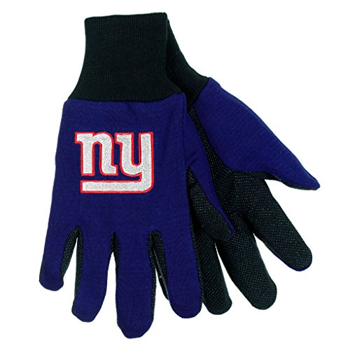 NFL Football Multi Color Team Logo Sport Gloves - Pick Team (New York Giants) (Ny Giants Tie Clip compare prices)