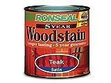 Ronseal 5 Year Woodstain 750ml Deep Mahogany