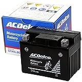 ACDelco [ エーシーデルコ ] シールド型 バイク用バッテリー DTX4L-BS
