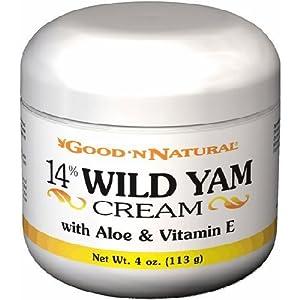 14% Wild Yam Cream with Aloe and Vitamin E 4 oz Cream