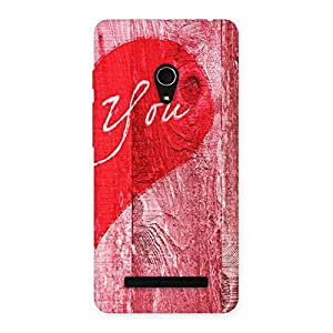 Gorgeous Pink You Multicolor Back Case Cover for Zenfone 5