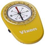 Vixen コンパス・高度計 オイル式コンパス LEDコンパス イエロー 43022-2