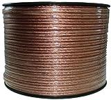 Lautsprecherkabel transparent 2×1,5mm² 30m Ring
