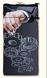 Active Elements stunning Multipurpose both side printed, waterproof Smart mobile pouch Design No-PUC-13815-L Comfortably Fit for large Phones Size up to Samsung Note-2/3//4, HTC M7/8/ Sony L36/39 etc