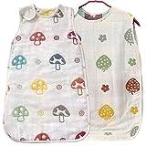 KF Baby muselina Saco de dormir, bolsa de dormir de manta, juego de 2�[Beb�s para ni�os] multicolor Talla:57 cm