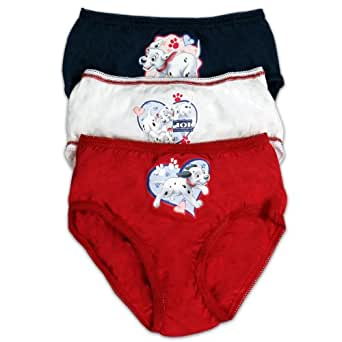 101 Dalmations Culotte | Dalmations 3 Pack Sous-Vêtements | Age 4 to 5 Ans