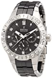 Festina Ladies Quartz Watch with Black Dial Analogue Display and Multicolour Stainless Steel Bracelet F16558/2