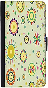 Snoogg Abstract Mixed Pattern Designer Protective Phone Flip Back Case Cover For Xiaomi Redmi Note 3