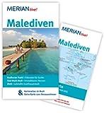Malediven: MERIAN live! - Mit Kartenatlas im Buch und Extra-Karte zum Herausnehmen