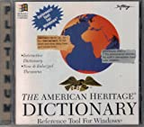 The American Heritage Dictionary: Reference Tool For Windows