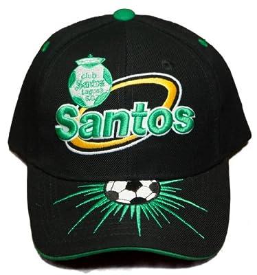 NEW!! Santos Futebol Club - Velcro Back Hat 3D Embroidered Cap - Laguneros