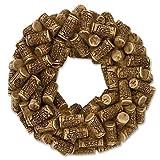 Got Cork Sculpted Resin Wreath Magnet