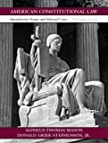 img - for American Constitutional Law: Introductory Essays and Selected Cases (15th Edition) book / textbook / text book