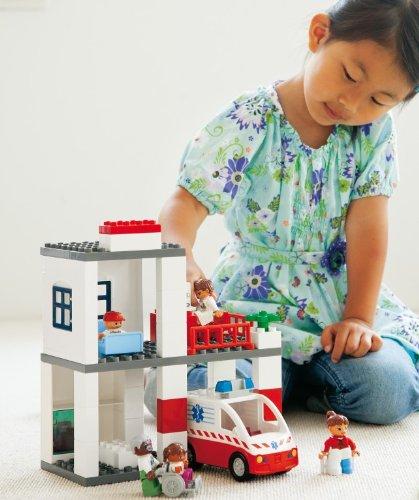 LEGO DUPLO Rettungsdienste Set 'NEU' 9209 - 130 Elemente für Kinder ab 2 Jahren!