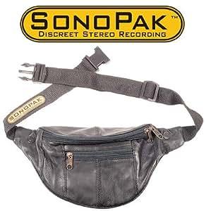 SonoPak Field Recording Stereo Microphone Pak - Records Discreetly