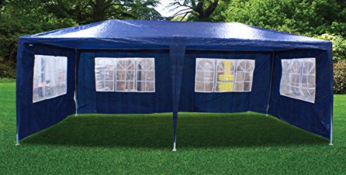 New 20'X10' Outdoor Party Wedding Tent Gazebo Events Pavilion - Blue front-810195