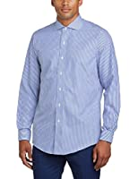 Brooks Brothers Men's Stripe Slim Fit Button Down Long Sleeve Casual Shirt