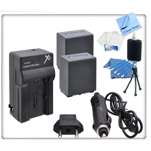 2 Pack High Capacity (5900 Mah) Sony Fv100 Replacement Battery & Charger Kit For Sony Cx110, Cx130, Cx150, Cx160, Cx210, Cx260V, Cx170, Cx190, Cx200, Cx300, Cx370, Cx370V, Cx350, Cx350V, Cx550, Cx550V, Cx560, Cx560V, Cx580, Cx580V, Cx700, Cx700V, Cx760, C