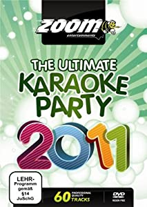Zoom Karaoke DVD - The Ultimate Karaoke Party 2011 - 60 Songs