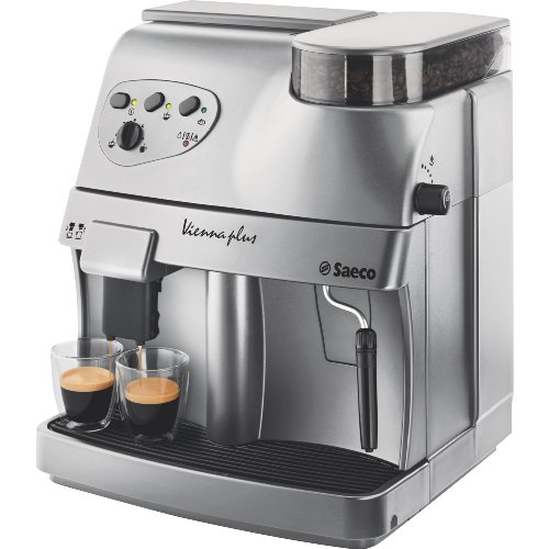 Review Philips Saeco RI9737/20 Vienna Plus Automatic Espresso Machine, Silver