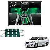 #3: Vheelocityin 9 LED Custom Cuttable Bike/ Car Green Light for Interior/ Exterior For Datsun Go