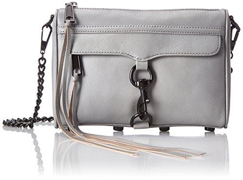 Rebecca Minkoff Mini Mac Cross Body Bag, Charcoal, One Size