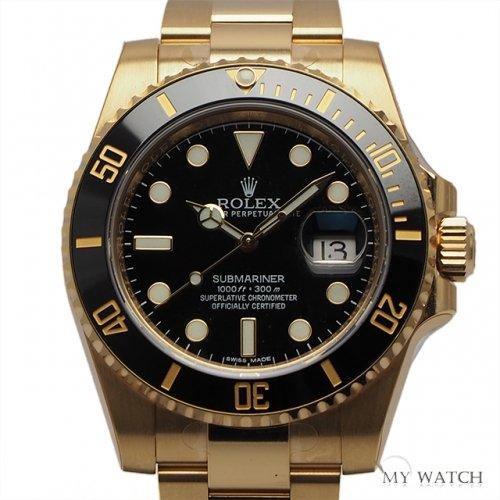 [ロレックス]ROLEX 腕時計 サブマリーナー デイト ブラック 116618LN メンズ [並行輸入品]
