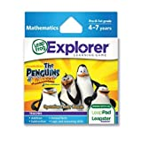 LeapFrog Explorer Learning Game: The Penguins of Madagascar: Operation Plushy Rescue (works with LeapPad & Leapster Explorer) Toy/Game/Play Child/Kid/Children