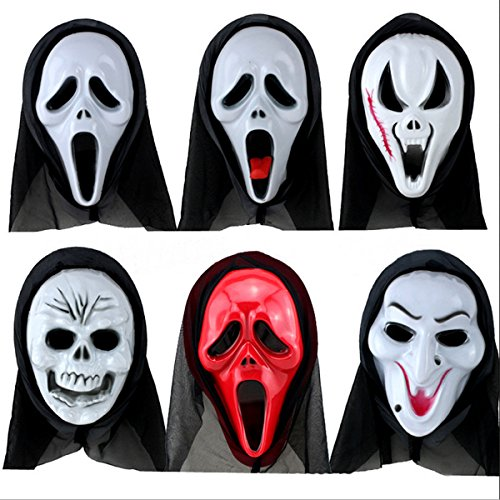 [Halloween Costume Scream Horror, Long Face terrorist Ghost Mask , Skull Ski, Call Of Duty Ghosts Mask For Halloween Decoration Props--A] (Cod Black Ops Halloween Costumes)