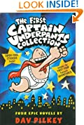 The First Captain Underpants Collection (Books 1-4)