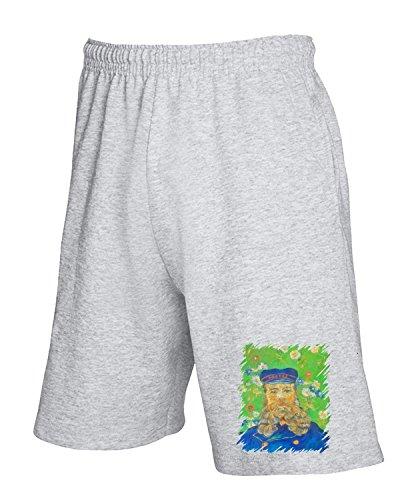 T-Shirtshock - Pantalone Tuta Corto TDA0123 van gogh119 joseph roulin, Taglia M