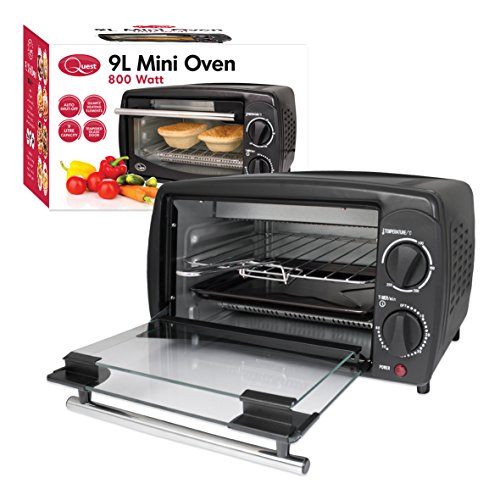 quest-mini-oven-9-litre-black