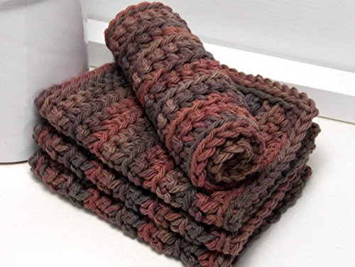 handmade-brown-eco-friendly-dishcloths-american-grown-cotton-set-of-4-gifts-under-15