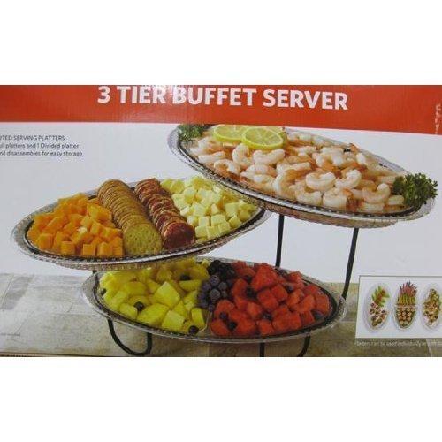 Cheap Creativeware 3 Tier Buffet Server (B0039BOKYO)