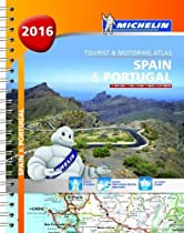 Spain & Portugal 2016 - A4 spiral (Michelin Tourist and Motoring Atlas)