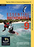 Essential Mathematics for the Australian Curriculum Year 9 Teacher Edition (1107606802) by Cujes, Michael