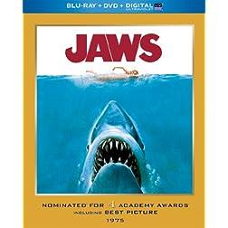 Jaws (Blu-ray + DVD + Digital with UltraViolet)
