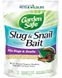 Garden Safe Slug and Snail Bait, 2-Pound, 4536