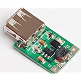 Quickbuying 2pcs DC-DC Converter Step Up Boost Module 1-5V to 5V 500mA USB Charger