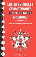 Les 36 symboles g�om�triques des 9 premiers nombres: Visualisation g�om�trique du nombre