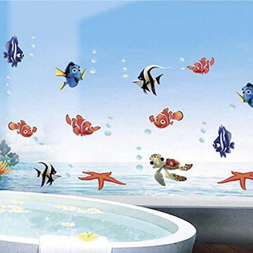 mondi-undersea-fai-da-te-per-bambini-pesci-wall-stickers-per-camera-da-letto-bagno-fondale-decor-rim